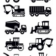 Construction transport - Imagen vectorial