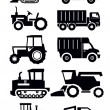 Agricultural transport — Stockvektor