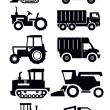 Agricultural transport — Stockvectorbeeld