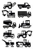 Construction transport — Stock Vector