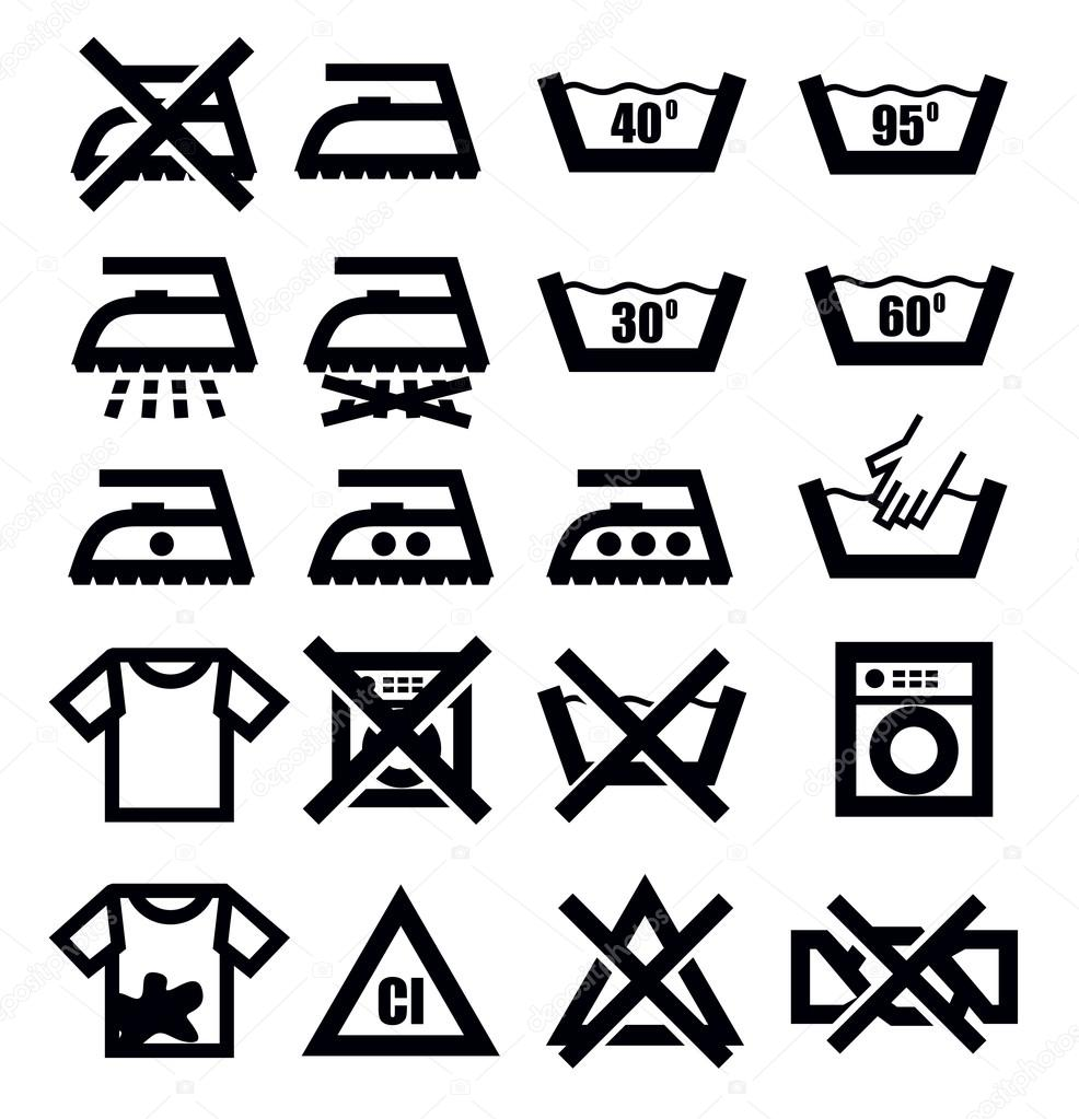 "Read those labels with care! Lately, you may have noticed a series of hieroglyphics popping up on your laundry's care labels. Where once, sage words like, ""Machine wash warm, tumble dry low,"" informed your laundering ."