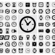 Vecteur: Clocks icon