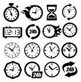 Clocks icon — Stock Vector
