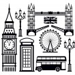 London icon — Stock Vector #23485315