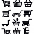 Shopping cart — Stock Vector