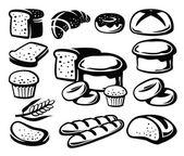 Bread icon — Stock Vector