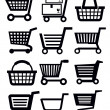 Shopping cart — Stock Vector #24050477