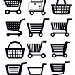 Stock Vector: Shopping cart