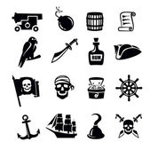 Pirates icon — Stock Vector