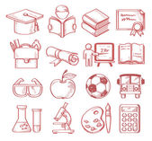 Hand drawn education — Stock Vector