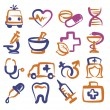 Medical icons — Stock Vector #29938437