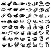 Продовольственные символы — Cтоковый вектор