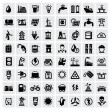 Vector de stock : Energy icons