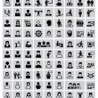 People icons — Vector de stock #31017433