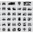 Transportation icon — Stock Vector