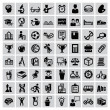 education icons — Stock Vector #31170121