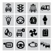 Auto icons — Stock Vector #31170129