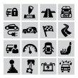 Auto icons — Stock Vector #31170143