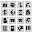 Phone icons — Vector de stock #31261041
