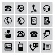 Phone icons — Stockvector #31261041