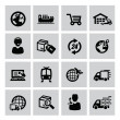 Logistic and shipping icon — Image vectorielle
