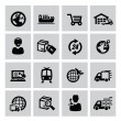 Logistic and shipping icon — Stock Vector