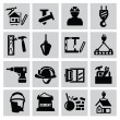 Construction icons — Stock Vector #31602545