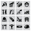 Construction icons — Stock Vector #31604803