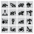 Construction icons — Stock Vector #31605199