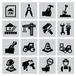 Construction icons — Stock Vector #31605373