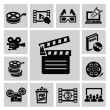 Movie icons — Stock Vector #31636331