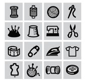 Sewing equipment icon — Stock Vector