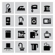 Kitchen icons — Stock Vector #31808901