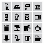Kitchen icons — Stock Vector