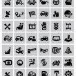Auto icons — Stockvektor #32074095
