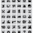 Auto icons — Stockvektor