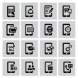 Mobile icons — Vettoriali Stock