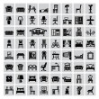 Vector de stock : Furniture icon