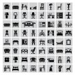 Furniture icon — Stockvector #32539071