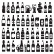 Beer bottles — Stock Vector #32819617