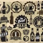 Beer pub labels — Stock Vector #32819643