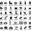 Travel and landmarks — Stockvector  #32905587