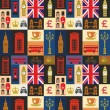 Uk icon set — Vector de stock  #37182641