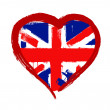 I Love Britain vector — Stock Vector