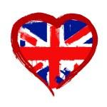 I Love Britain vector — Stock Vector