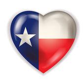 Amo il vettore del texas — Vettoriale Stock