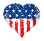 I Love USA vector — Stock Vector