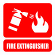 Fire extinguisher — Stock Vector