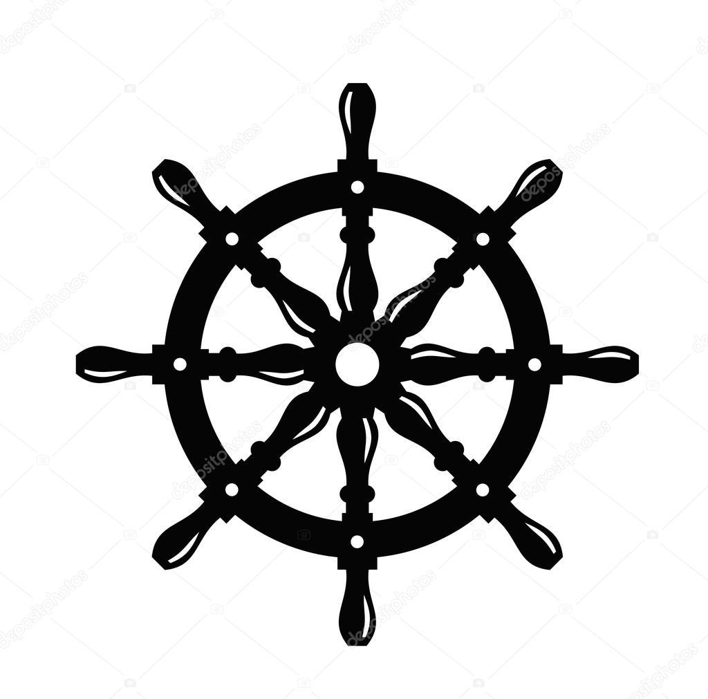 Картинка штурвал корабля