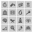 Medicine & Heath Care icons — Vecteur
